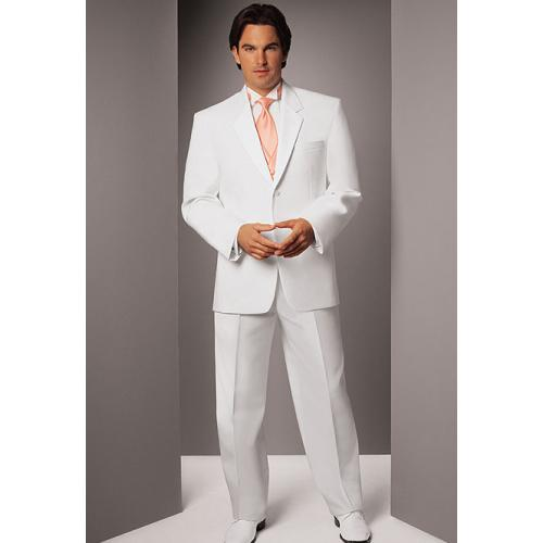 The white tuxedo appearance