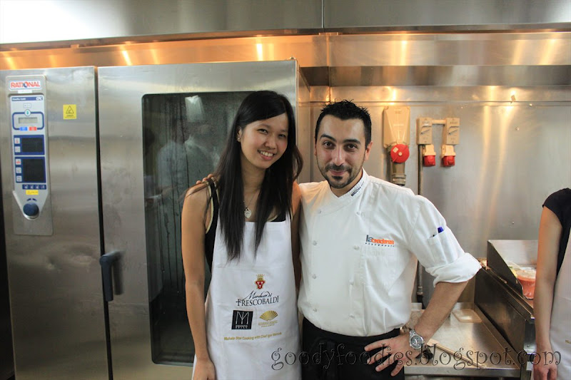 La Credenza Igor Macchia : Goodyfoodies cooking class with michelin star chef igor macchia
