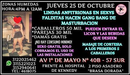 JUEVES 25 DE OCTUBRE DE 4 PM A 12 AM PRIMER GRAN EVENTO SW EN RELAX CLUB