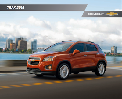 Downloadable 2016 Chevrolet Trax Brochure