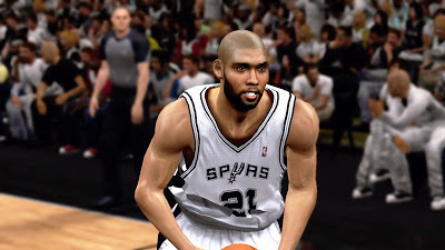 NBA 2K13 Tim Duncan Spurs vs Warriors Update