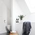 | Modern minimalist bathroom