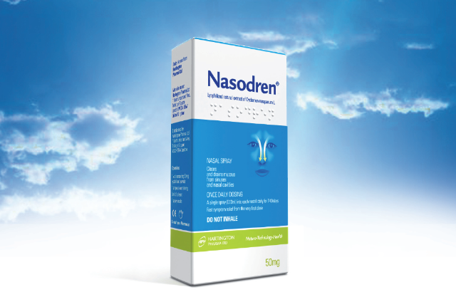 Nasodren for sinusitis treatment