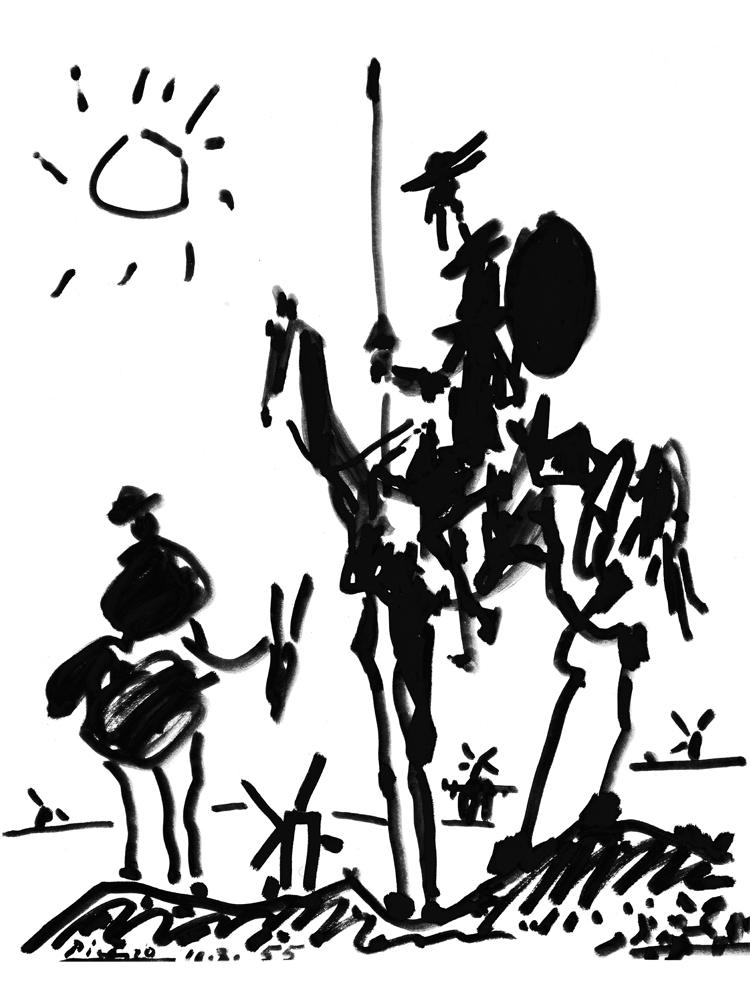 Quijote y Escudero
