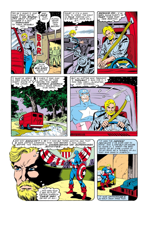 Captain America (1968) Issue #336 #265 - English 6