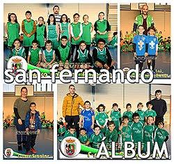 Equipos del colegio San Fernando en los Juegos Escolares