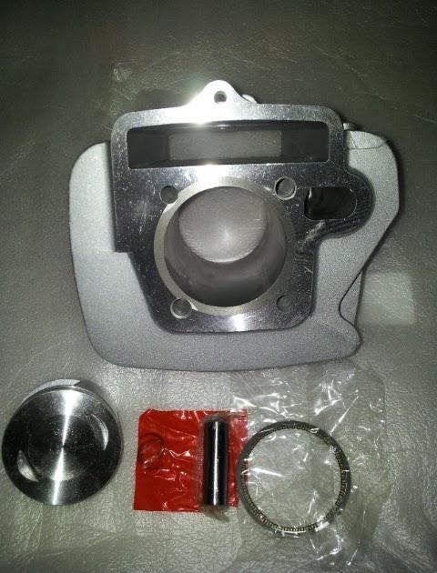 Palex Motor Parts  Cylinder Block Kit 53mm Honda Ex5 Dream