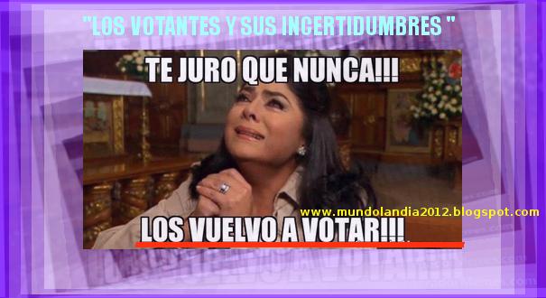 LOS CIUDADANOS VOTANTES Y SUS ELECCIONES