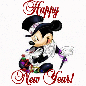 happy new year mickey mouse greetings One More Disney Day