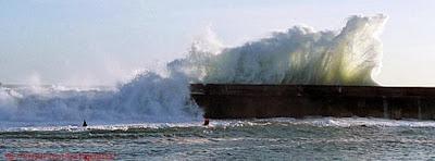 Photo de couverture facebook mer agitée