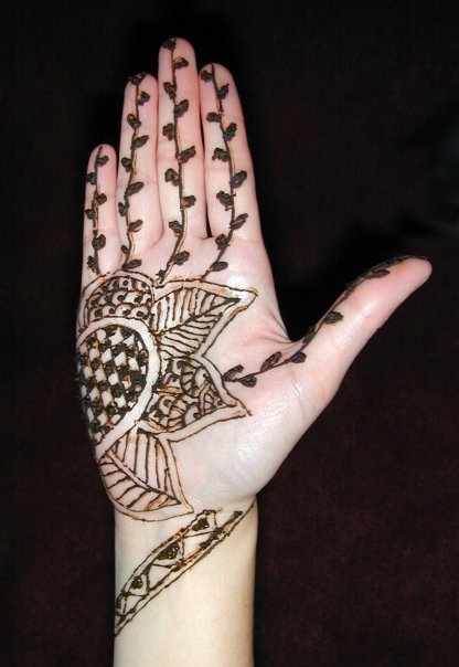Mehndi Designs For Kids And Eid : Mehndi designs for kids easy hands to do and eid
