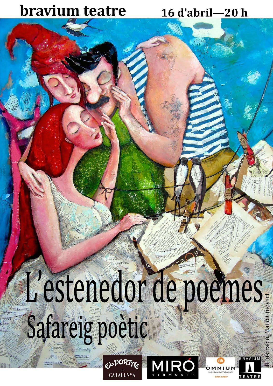 L'estenedor de poemes a Reus