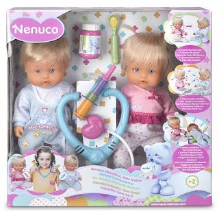 guide, jouets, jeux, noel, 2015, idées, cadeaux, jumeaux interactifs, atchoum, nenuco