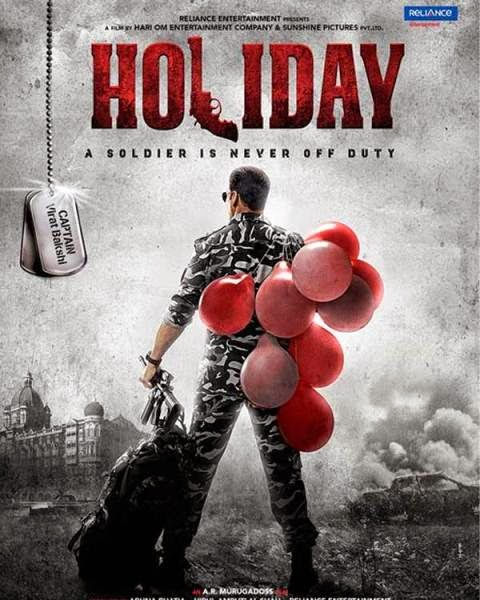 Holiday (2014) Movie Official First Look Poster