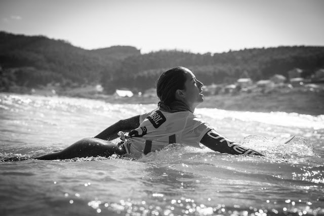 34 Malia Manuel HAW Pantin Classic Galicia Pro 2015 Foto WSL