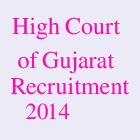 Gujarat High Court Recruitment 2014