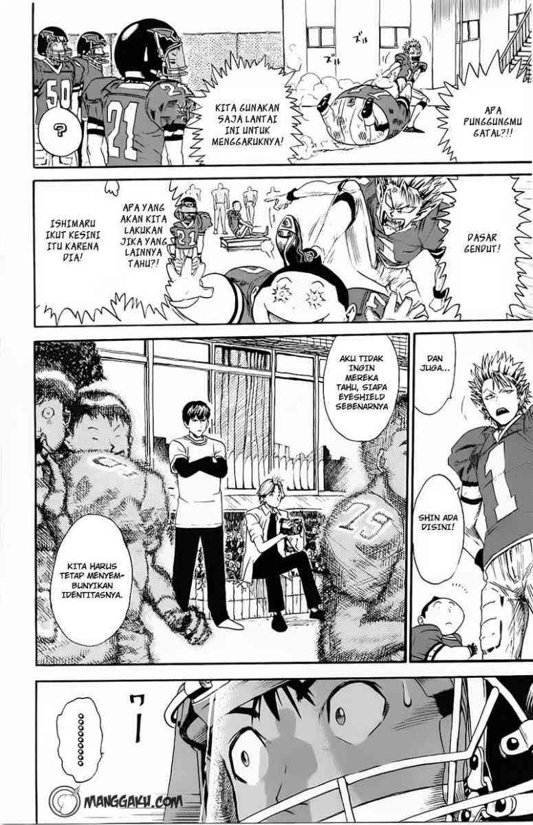 Komik eyeshield 21 006 - mencengkram lapangan 7 Indonesia eyeshield 21 006 - mencengkram lapangan Terbaru 4|Baca Manga Komik Indonesia|