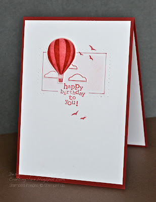 Up up and away by Stampin Up