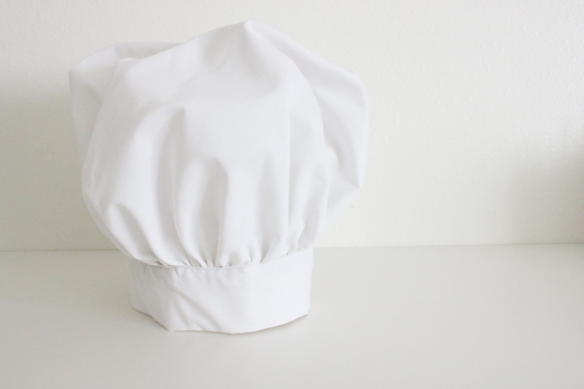 pizza chef s hat