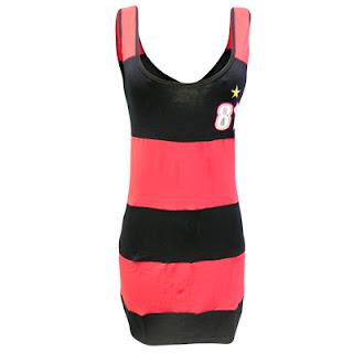 modelos de Vestidos do Flamengo