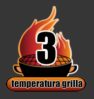 """Temperatura rozgrzania grilla sprawdzana dłonią """" na rękę"""""""