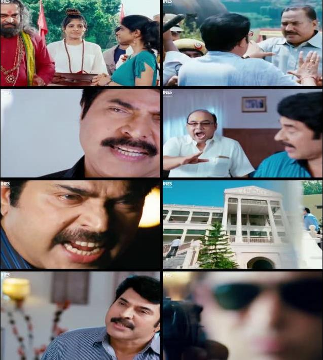 The King and Commissioner 2015 Hindi Dubbed 720p WEB HDRip