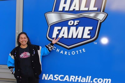 NASCAR Race Mom enjoyed her visit to the NASCAR Hall of Fame (Dec. 2011)