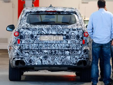 Back image of new BMW X5