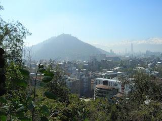 Cerro de San Cristóbal, Santiago de Chile, Chile, vuelta al mundo, round the world, La vuelta al mundo de Asun y Ricardo