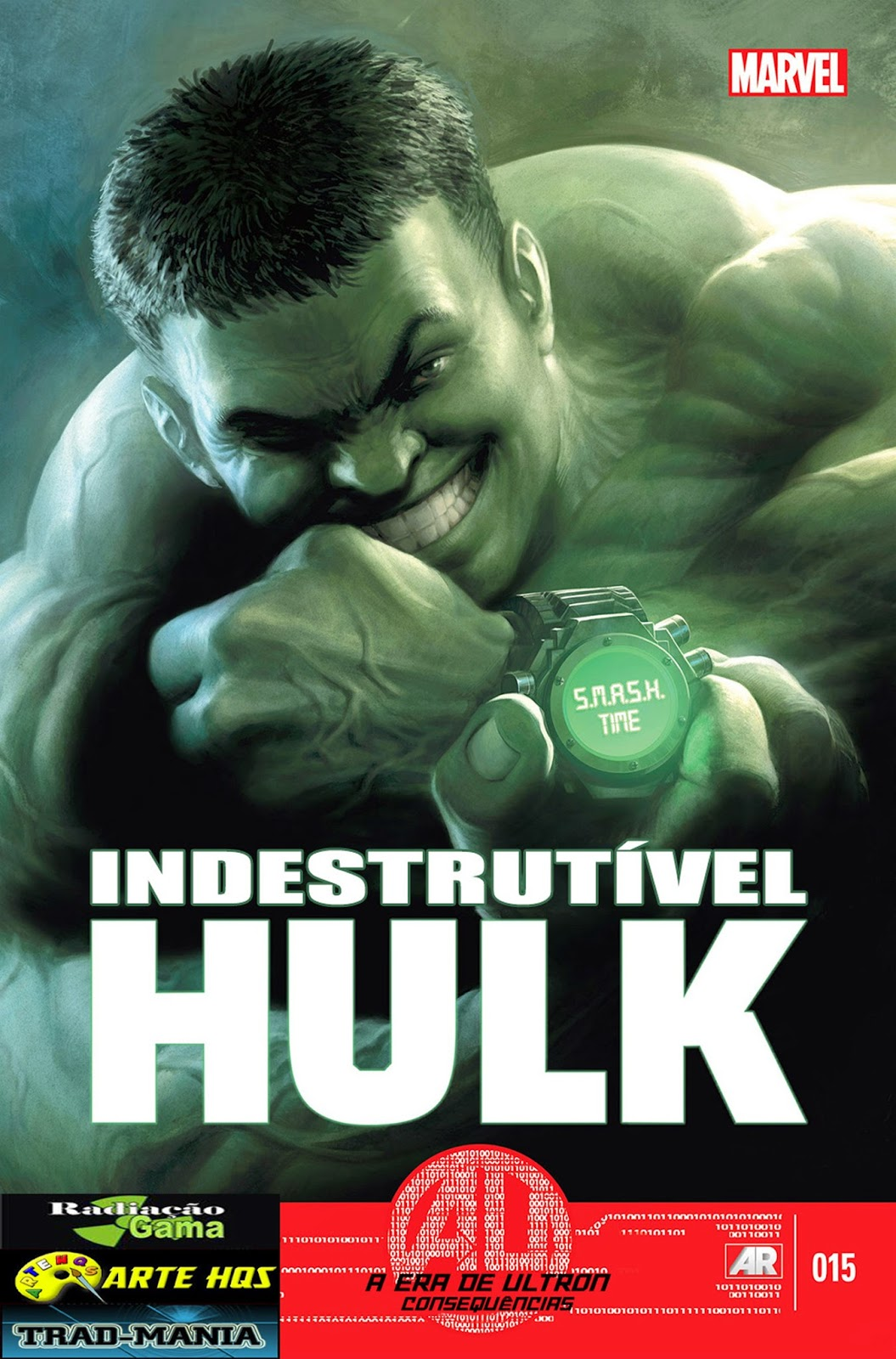 Nova Marvel! O Indestrutível Hulk - Agente do T.I.M.E #15