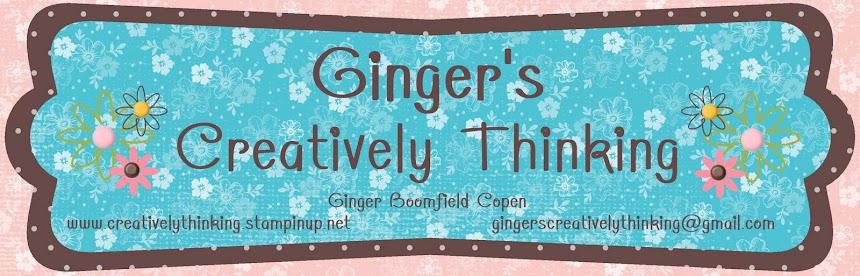 Ginger's Creatively Thinking