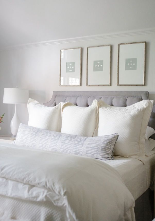 Coastal style elegant bedrooms for White and neutral bedrooms