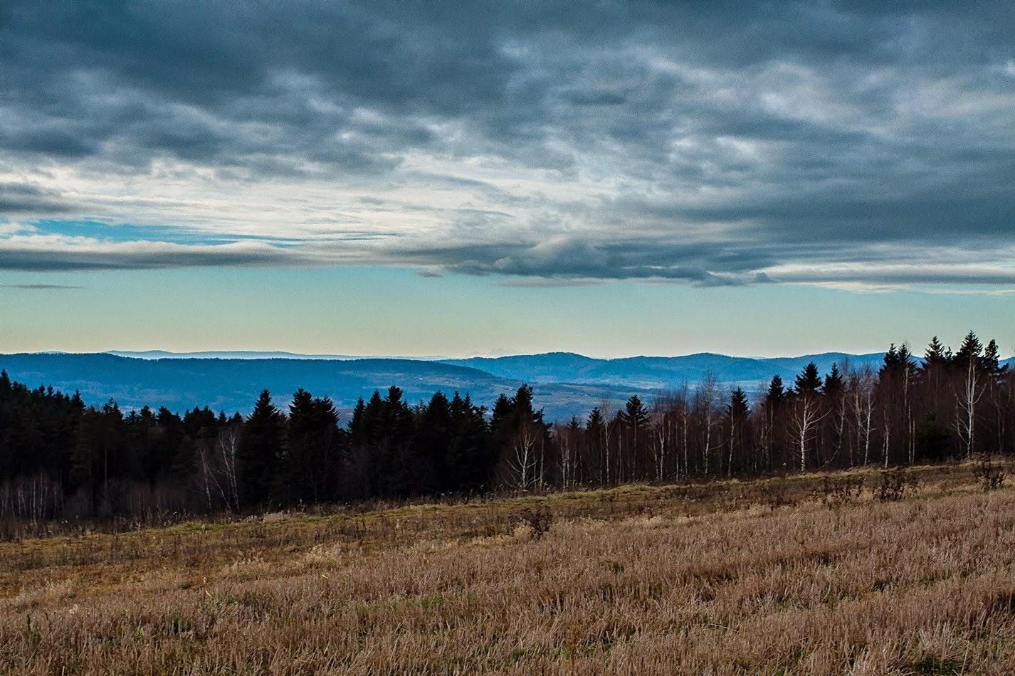Tatry z Gwoździanki, widok, dalekie obserwacje