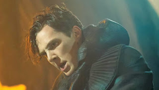 Benedict Cumberbatch as Khan (aka Khan Noonein Singh) in Star Trek Into Darkness, Directed by J. J. Abrams