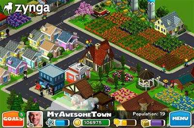 Now play Zynga's CityVille in Google+