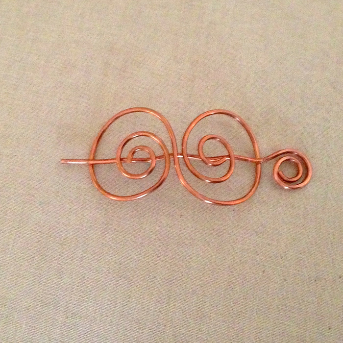Lisa Yang\'s Jewelry Blog: Handmade Wire Hair Clip Barrettes