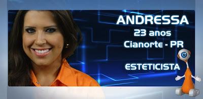 Perfil da BBB13: Andressa - Fotos, Flagras, Vídeos e Informações