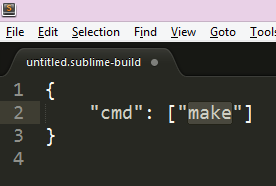 c sublime text