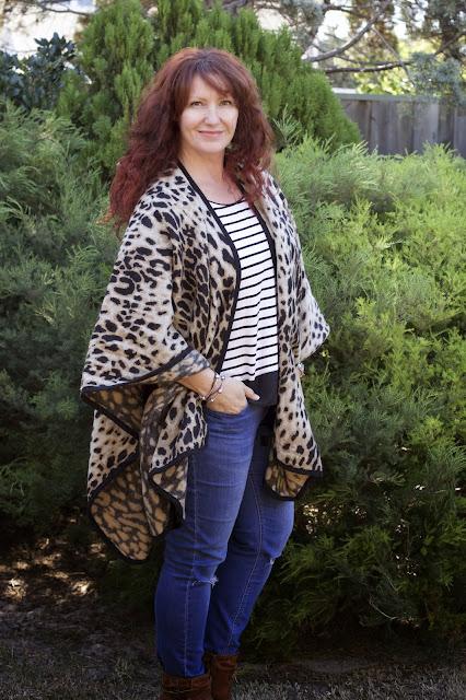 Leopard Print Wrap - The Fashionable Mum