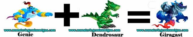 como obtener el monster giragast en monster legends formula 2