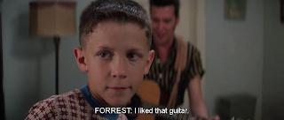 Forrest Gump and Elvis Presley