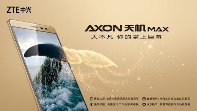 ZTE Axon Max & Axon Elite Lux Pro Launched