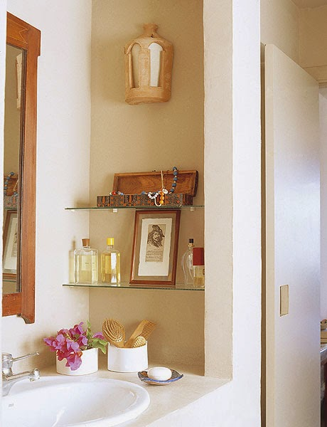 Creative Bathroom Shelving Ideas : Creative storage ideas for a small bathroom diy craft