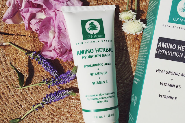 OZ Naturals Amino Herbal Hydration Mask review