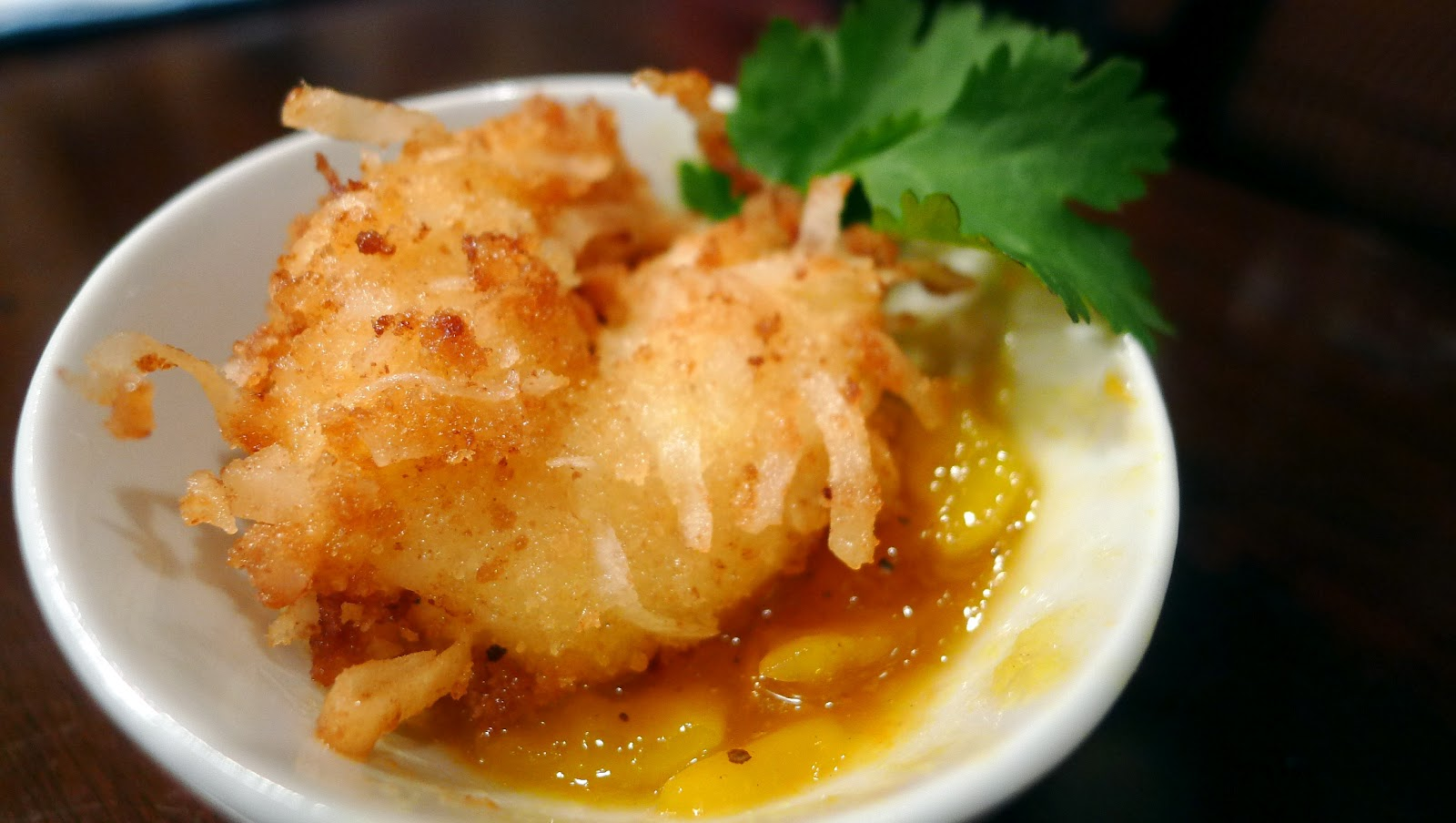 newFOOD tuesdayz: Coconut Shrimp with Mango Dipping Sauce