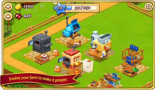 Farm Town v1.33 Apk Mod [Unlimited Gold and Diamond]