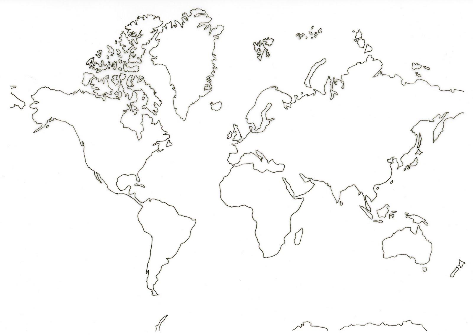 Imprimer Carte Du Monde