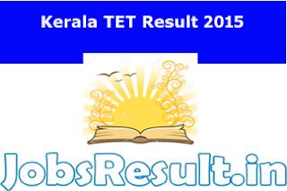 Kerala TET Result 2015