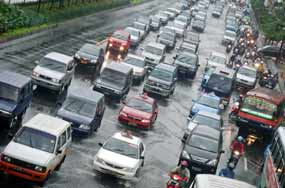 6 Kota Dengan Kemacetan Terparah