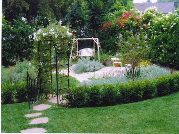 Home garden design ideas wallpapers pictures fashion for Simple garden designs for small gardens